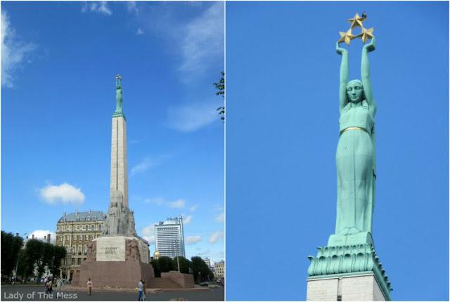 Vapauden muistomerkki, Riika