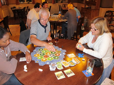 Settlers of Catan - The players