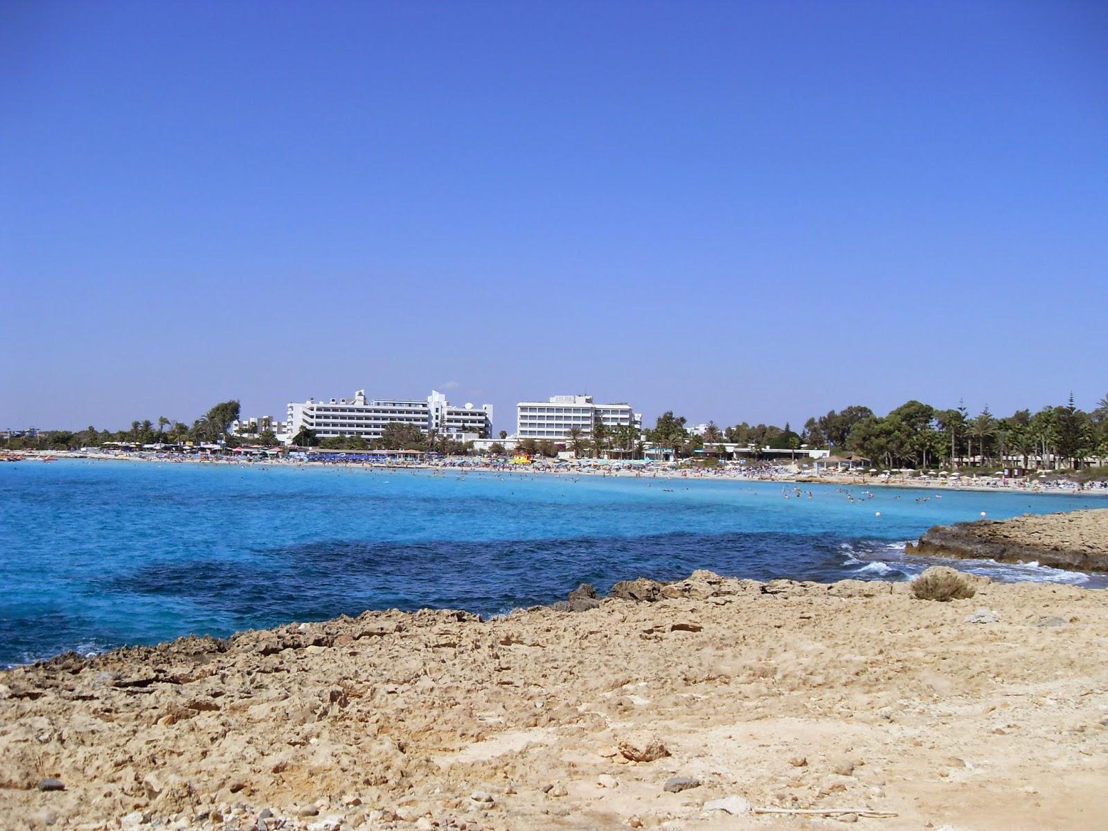 קפריסין - חוף הים באיה נאפה