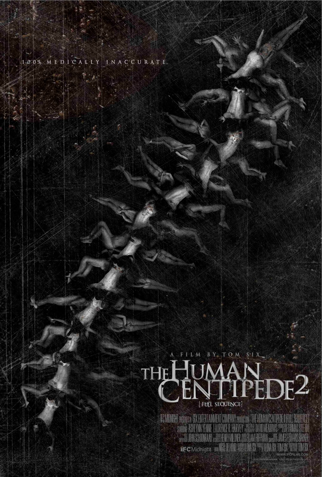 Human centipede movie