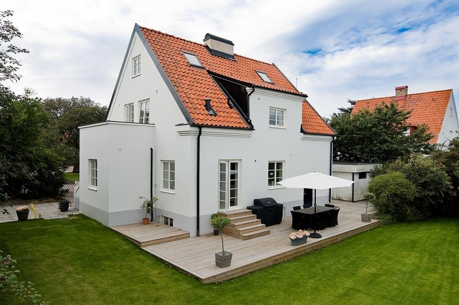 Hogares frescos ordenada casa con estilo n rdico - Casas de estilo nordico ...