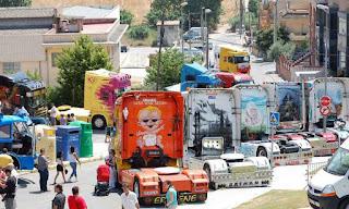 Camiones pintados a mano