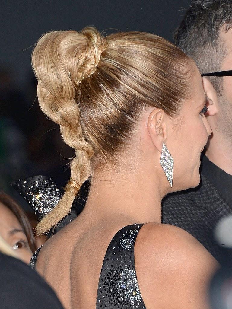 Fryzura gwiazd w stylu Heidi Klum