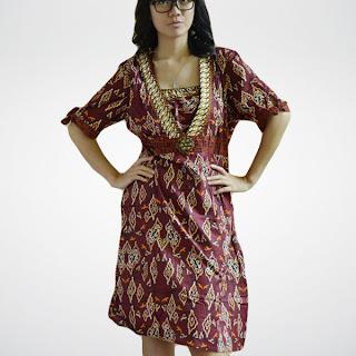 baju batik gaul 2013