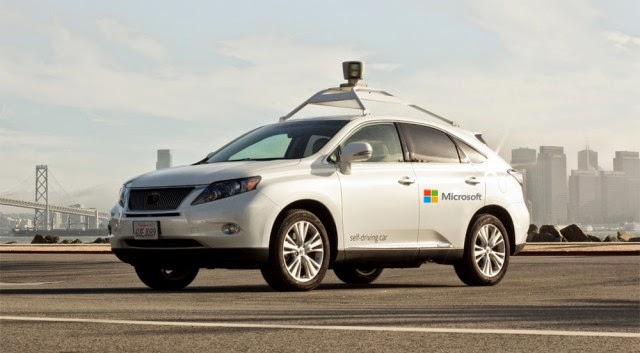 Microsoft's self-driving car