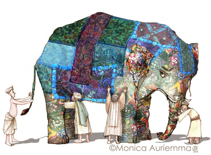 """Improbabili Interviews. Elefante ne """"La gemma nel Vestito."""