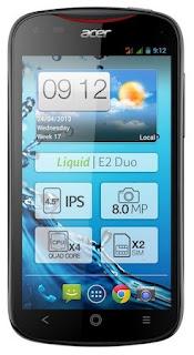 Acer rilis Acer Liquid E2, Quad-core 1.2 GHz