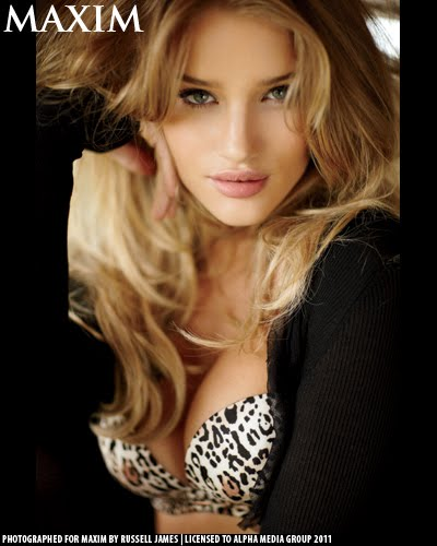 rosie huntington whiteley maxim. Maxim USA July 2011 pdf, Rosie