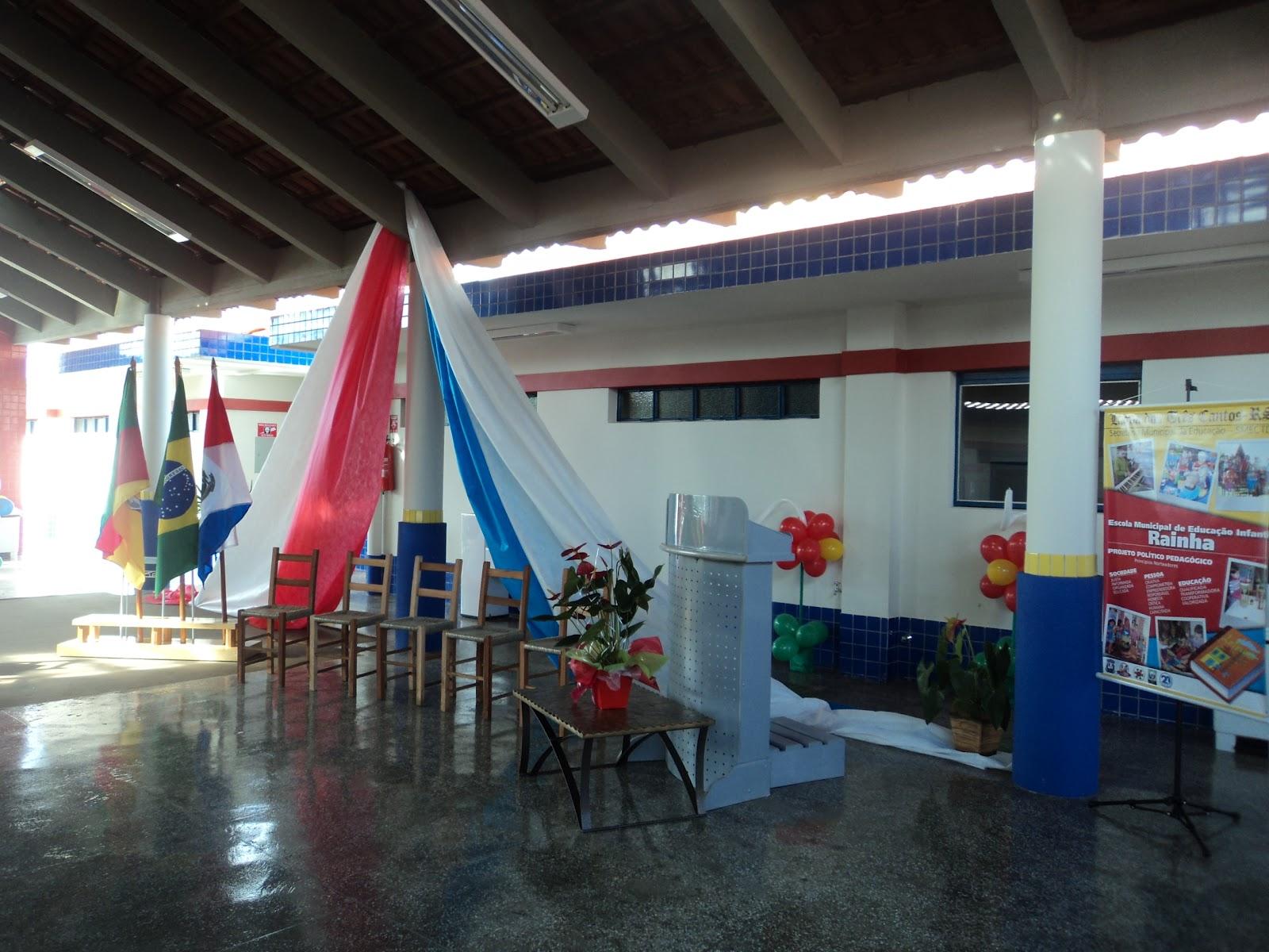 projetos da Escola preparou o lanche na nova cozinha com auxilio da #223B62 1600 1200