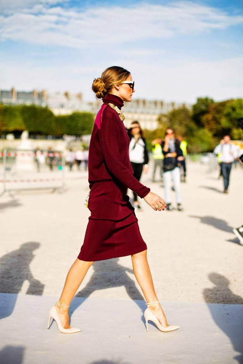 The Olivia Palermo Lookbook Olivia Palermo At Paris Fashion Week Look 1