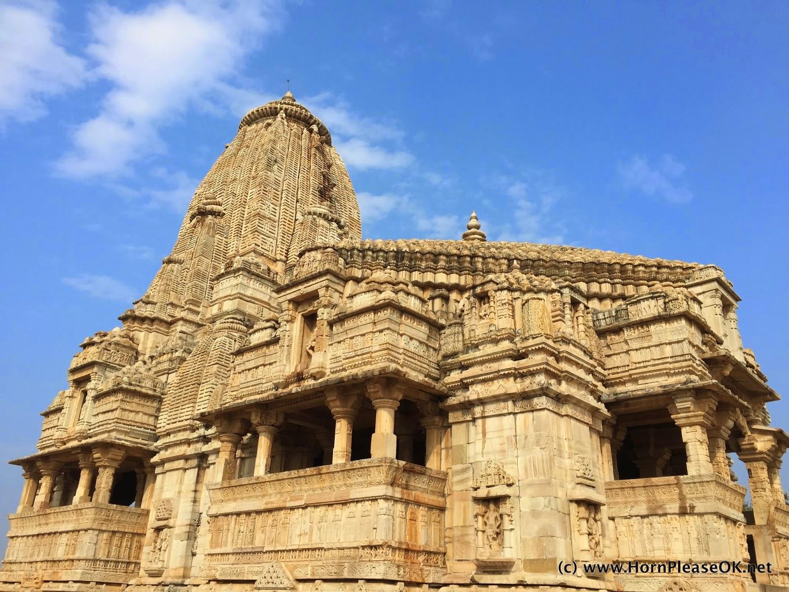 Kalika Mata temple side view