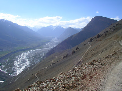Spiti river,  offbeat himalayas, offbeat ladakh, volunteering