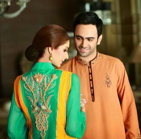 Ali Rajwana Designer wear Fashion 2014
