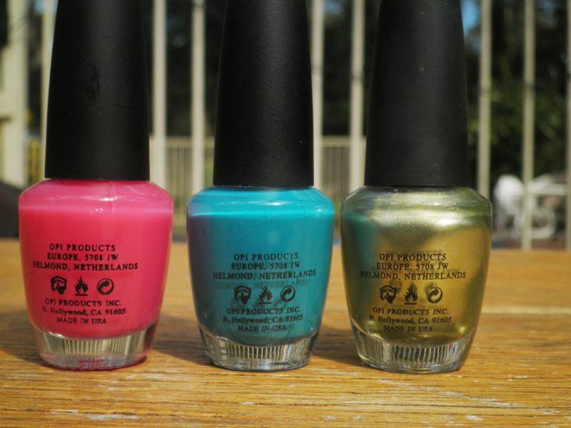Caitt\'s Nails: My experience with Fake OPI polishes
