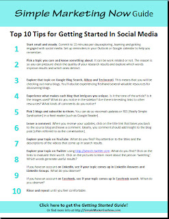 Want to Get Started with Social Media? Ten Tips...