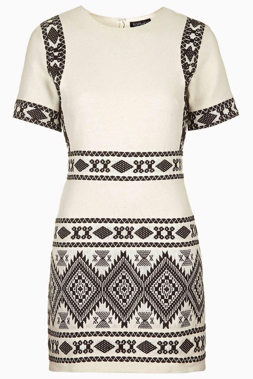 Topshop Aztec Print Dress £70
