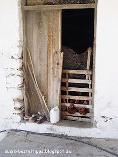 susis basteltipps mit stampin up: Hühner auf Kreta