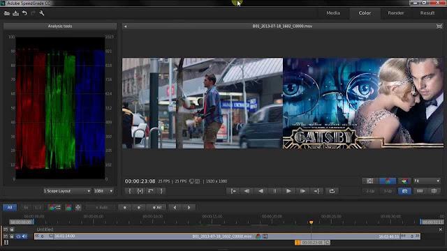 Adobe SpeedGrade CC