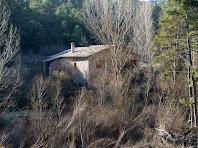Les façanes de ponent i nord del molí del Vilaró
