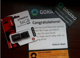 Gokano ship prizes to any country in the world.