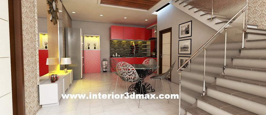 jasa desain ruko minimalis modern desain interior dapur