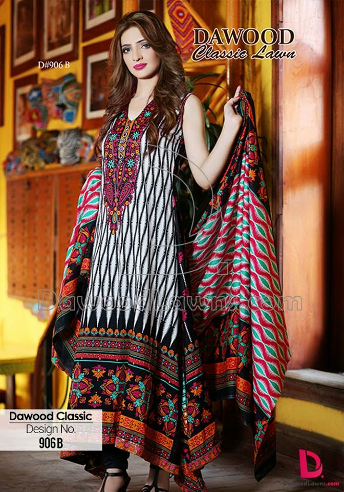 Summer clothes lawn collection for women