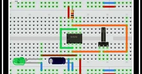 Circuito Oscilador 555 : Revista elektronika circuito astable con c i