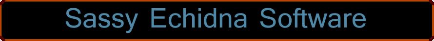 Sassy Echidna Software