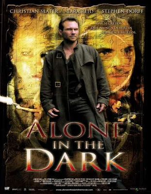 Poster Of Alone in the Dark 2005 In Hindi Bluray 720P Free Download