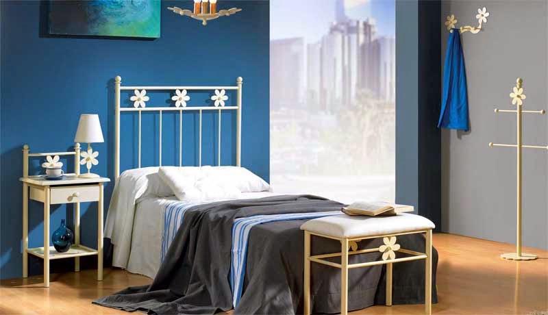 Cabecero forja dormitorio juvenil