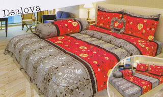 sprei Lady Rose Dealova