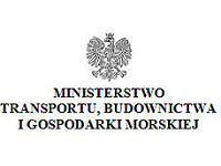 Logo Ministerstwa Transportu, Budownictwa i Gospodarki Morskiej