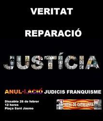 Cartel Concentración en Barcelona 1/3/2011