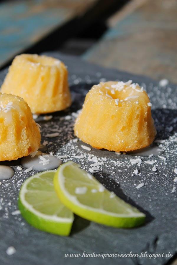 Kokos Limetten Guglhupf Foodblog