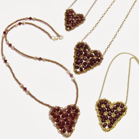 http://www.aroundthebeadingtable.com/Tutorials/Heart.html