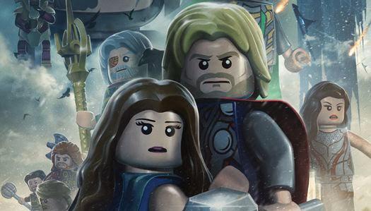Lego mini Poster Thor un Mundo Oscuro