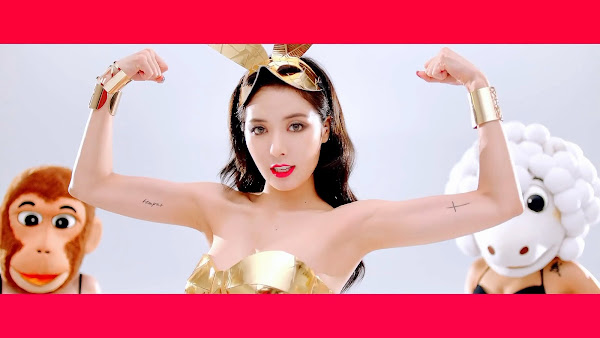 Hyuna Red MV