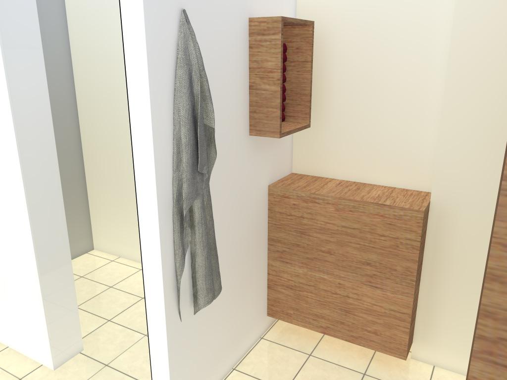 Arnoud herberts interieurarchitect badkamer ontwerpen in 3d voor klant in bussum - Badkamer presentatie ...