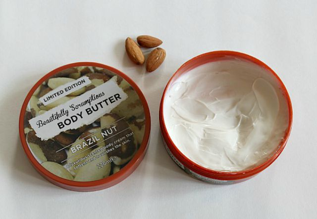 beautifully scrumptious body butter
