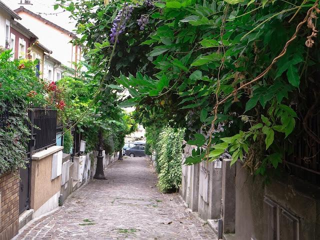 Le quartier de la Mouzaia à Paris