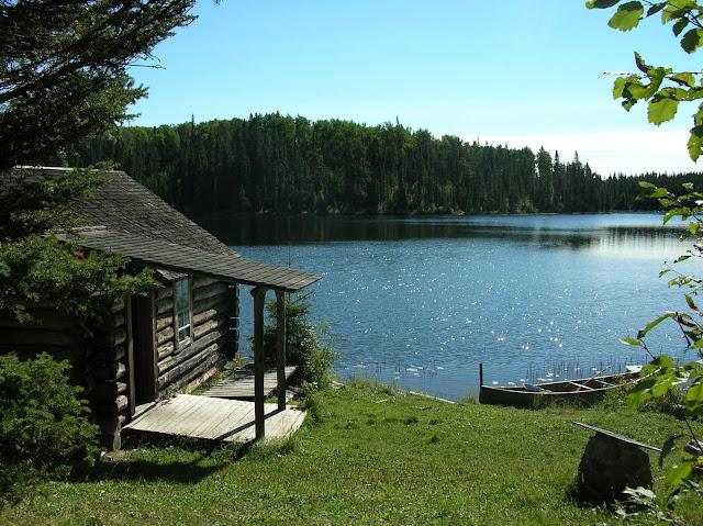 Greyowls cabin ajawaan lake