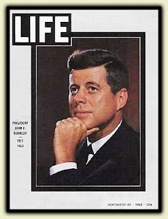 Life Magazine Cover - JFK