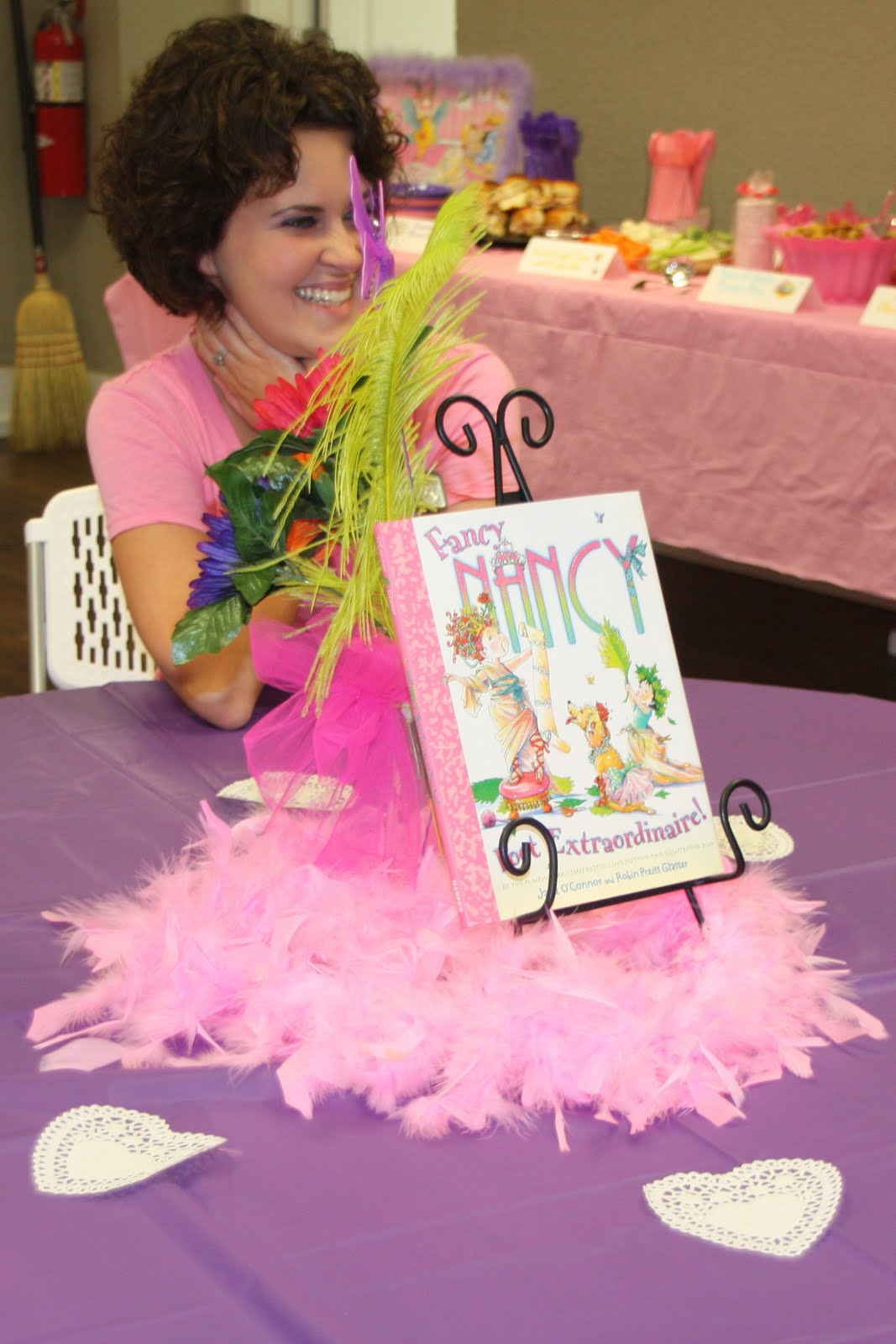 emme claire emme claires fancy nancy 2nd birthday soiree