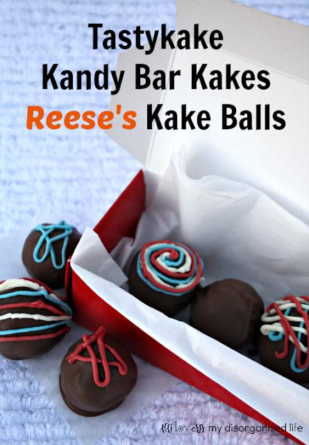 Tastykake Kandy Bar Kakes Reese's Kake Balls- {i love} my disorganized life