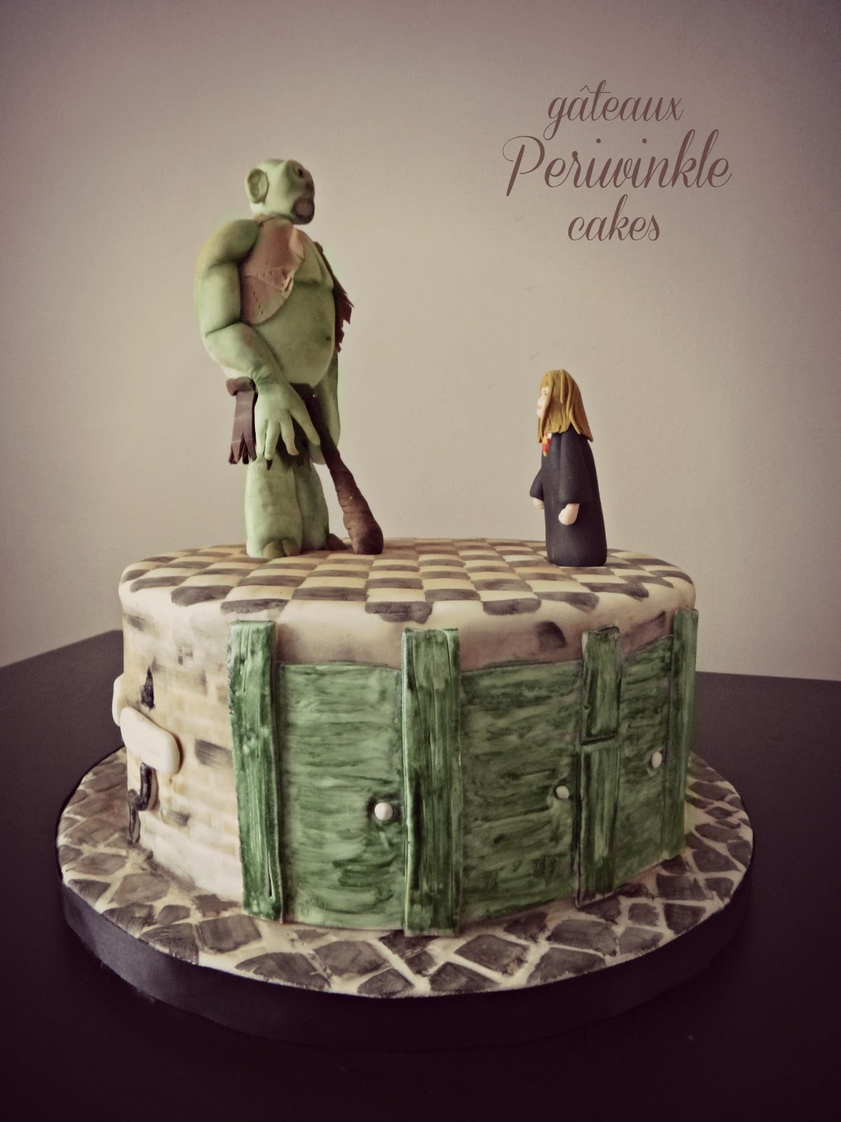 Periwinkle Cakes: Troll in the Dungeon!