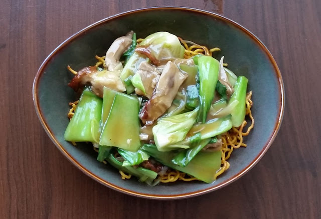 Block 7, yum cha, Camberwell, shredded duck fried noodles