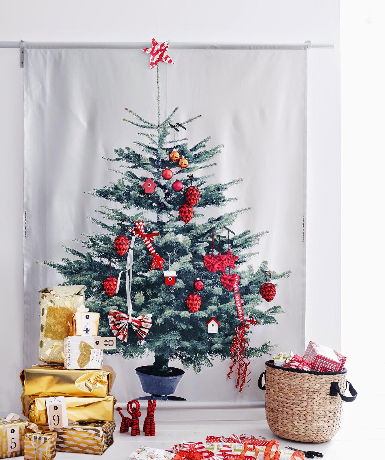 Handcraftmarie mein ikea vinter stoff weihnachtsbaum - Ikea stoffe a metraggio ...