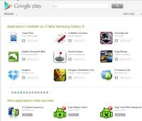gestione App Android da Google Play
