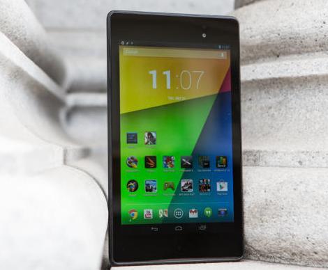 Google Nexus 7 tablet 2013 updates