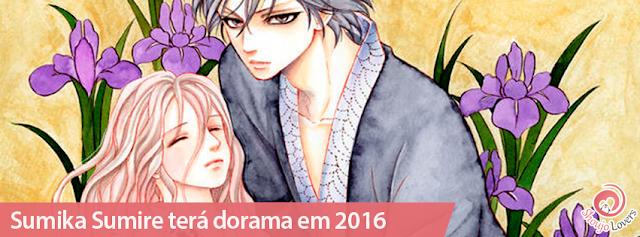 Sumika Sumire, o Josei de Mitsuba Takanashi serializado na Cocohana, vai ganhar dorama